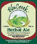 BluCreek Herbal Ale - Spice/Herb/Vegetable