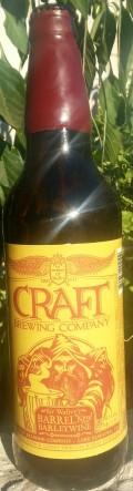 Craft Sir Walters Barrel Aged Barleywine