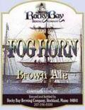 Rocky Bay Foghorn Nut Brown Ale