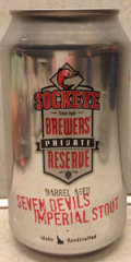 Sockeye Barrel Aged Seven Devils Imperial Stout