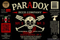 Paradox Beer Skully Barrel No. 03