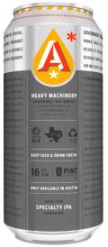 Austin Beerworks Heavy Machinery IPA Series #3: Half IPA