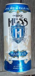 Mike Hess Habitus Rye IPA