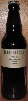 The Kernel Pale Ale Simcoe Amarillo Mosaic