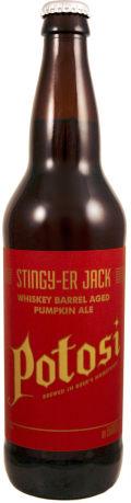 Potosi Stingier Jack Barrel Aged Imperial Pumpkin Ale