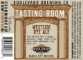 Boulevard Tasting Room Series Westside Rye Ale