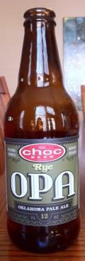 Choc Rye OPA