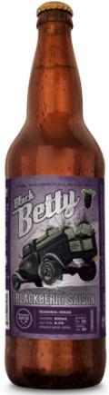 Vancouver Island Black Betty Blackberry Belgian Saison