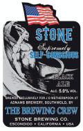 Adnams / Stone Supremely Self-Conscious Black Ale