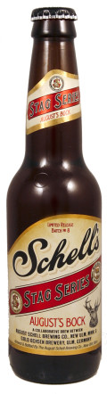 Schell Stag Series #8 - August�s Bock