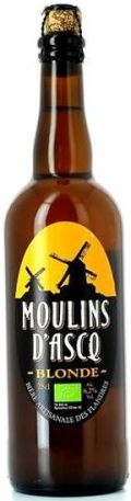 Moulins d�Ascq Blonde - Bi�re de Garde