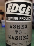 Edge Project Ashes to Mashes Wattleseed Stout