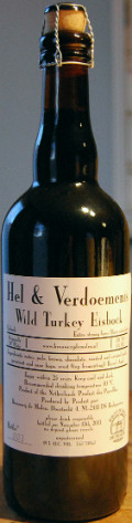 De Molen Hel & Verdoemenis Wild Turkey Eisbock