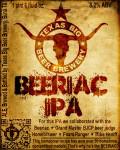 Texas BIG Beer Beeriac IPA