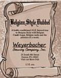 Weyerbacher Belgian Dubbel - Abbey Dubbel