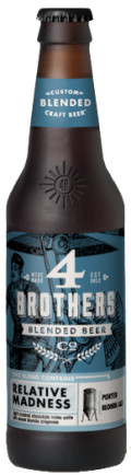 4 Brothers Blended Beer Relative Madness