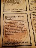 Cellarmaker Batch 1 Porter