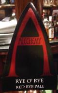 Alechemy Rye O Rye