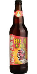 Funky Buddha Fire in the Hole Raspberry Habanero Red Ale