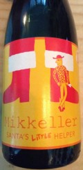 Mikkeller Santas Little Helper 2012 (Barrel Aged Grand Marnier Edition) - Belgian Strong Ale