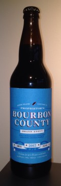 Goose Island Bourbon County Stout - Proprietor's 2013