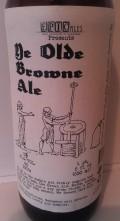 Epic Ales Ye Olde Browne Ale