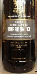 Widmer Brothers Reserve Ginger Barrel Aged Brrrbon