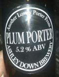 Ashley Down Plum Porter