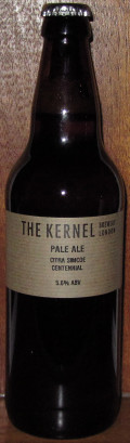 The Kernel Pale Ale Citra Simcoe Centennial