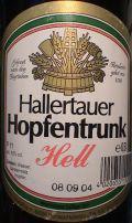 Hallertauer Hopfentrunk Hell