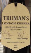 Truman�s London Keeper