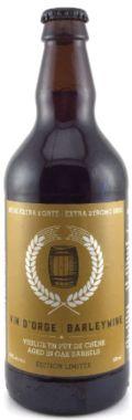 Le Tr�fle Noir Vin d�Orge - Barley Wine (en f�t de ch�ne)