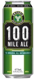 Ontario Beer Company 100 Mile Ale