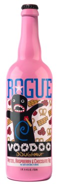 Rogue Voodoo Doughnut Pretzel, Raspberry, and Chocolate Ale - Fruit Beer
