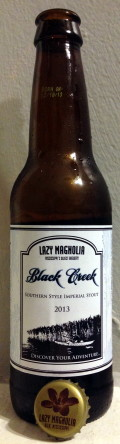 Lazy Magnolia Black Creek Southern Style Imperial Stout