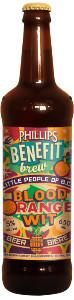 Phillips Benefit Brew 2013 Little People of BC Blood Orange Wit