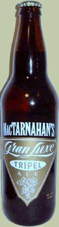 MacTarnahans Gran Luxe Tripel Ale - Abbey Tripel