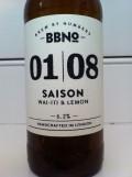 Brew By Numbers 01/08 Saison - Wai-iti & Lemon