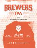 All In Brewing Brewers IPA Nelson Sauvin Single Hop