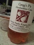 Gregg�s Pit Browns Apple, Kingston Black & Sweet Coppin Cider