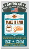 Adnams / Sixpoint Make it Rain