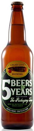 Cigar City 5 Beers for 5 Years - Margarita Gose