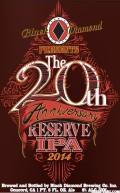 Black Diamond 20th Anniversary 2014 Reserve IPA