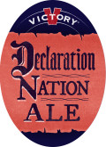 Victory Declaration Nation Ale  - Brown Ale