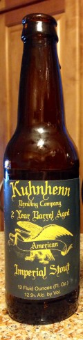 Kuhnhenn American Imperial Stout - 2 Year Barrel Aged