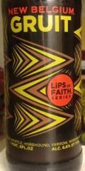 New Belgium Lips of Faith - Gruit