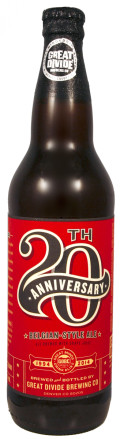 Great Divide 20th Anniversary Belgian-Style Ale