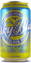 Carolina Brewery Sky Blue Golden Ale