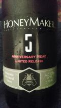 Maine Mead Works HoneyMaker 5 Anniversary Mead