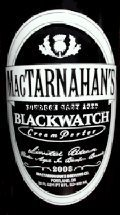 MacTarnahans Bourbon Cask Aged Blackwatch Cream Porter